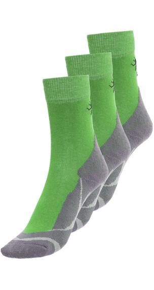 axant Trekking Calze pacco da 3 grigio/verde